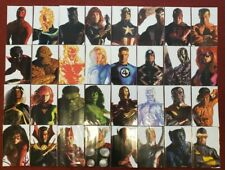 Lot of 32 Marvel Comics 2020 Alex Ross Timeless Variant Cover Complete Set of 32