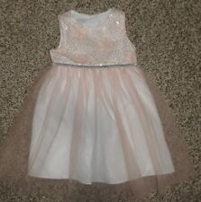 6804b8972c1 Toddler Girls Special Occasions Marmellata Dress Pink White Silver 24 Months