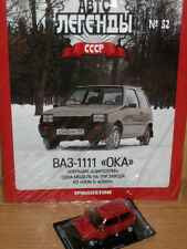 IST USSR 1988 VAZ-1111 Lada Oka Magazine Diecast 1/43 Auto Legends