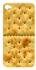 iPhone 4 or 4S Skin Sticker Cracker Biscuits Front Back n Wallpaper Free Post