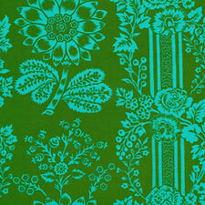 Sis Boom Jennifer Paganelli Happy Land Candice Fabric in Green JP068