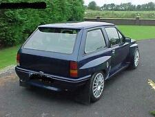 Vauxhall Nova Wide Arch Kit