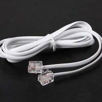 High Speed 3FT 1M RJ11 Telephone Phone ADSL Modem Line Cord Cable