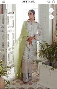 Suffuse By Sana Yasir Freeshia Collection Dew Size Large Pakistani Dress