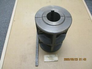 """NEW DODGE 009010 1-15/16"""" BORE, RIBBED SHAFT COUPLING."""