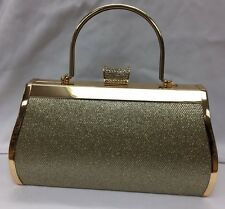 New Ladies Evening Clutch Hand Bag Purse Party Prom Bridal Wedding Hand Bag Just