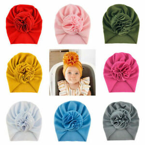 2021 Baby Infant Girls Floral Bow Headband Toddler Knot Hair Band Head Wrap