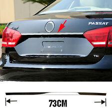 FIT FOR VW PASSAT B7 12 REAR TAILGATE LID TRIM MOLDING TRUNK DOOR CHROME GARNISH