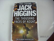 THE THOUSAND FACES OF NIGHT A JACK HIGGINS NOVEL