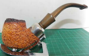"""SUPERB LOOKS/CONDITION HARDLY USED """"K&P PETERSONS 314"""" RUSTIC MEERSCHAUM PIPE."""