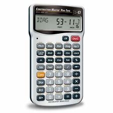 Calculated Industries 4080 Construction Master Pro Trig Construction-Math Calcul