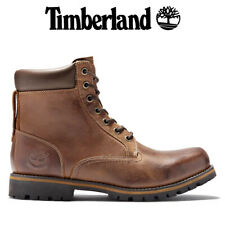 TIMBERLAND RUGGED 6 INCH BOOTS BROWN - leather waterproof TB 074134210
