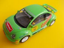 SCALEXTRIC C2337 VW BEETLE CASTROL IN  NEAR MINT CONDITION FRONT WORKING LIGHTS