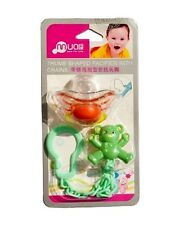Dummy Comforter Soother with Chain and Clip Holder