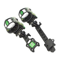 """Archery Compound Bow Sight Lock Micro Adjustable 5 Pin .019"""" Hunting Shoot"""