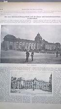 1904 64 Düsseldorf Gartenbauausstellung