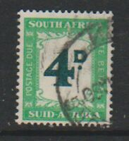 South Africa - 1961, 4d Postage Due - F/U - SG D47