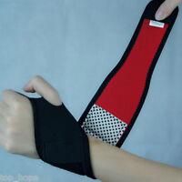 Elastic Wrist Guard Band Brace Support Carpal Tunnel Sprains Strain Gym Strap