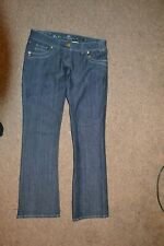 "RIVER ISLAND SEXY LOW WAIST  BOOTCUT JEANS.SIZE 12 L 32"".NEW"