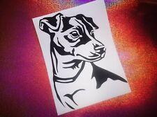 JACK RUSSELL dog lover cool car window bumper vinyl sticker/decal