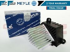 FOR BMW 3 5 SERIES X5 FINAL STAGE HEDGEHOG HEATER BLOWER RESISTOR MEYLE GERMANY