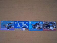 Soth Georgia, Endangered Seabirds,4 Vals ,Complete,U/Mint,Cat £12.25,Excellent.