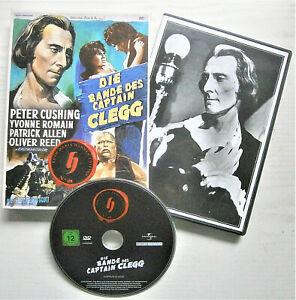 Peter Cushing in DIE BANDE DES CAPTAIN CLEGG-DVD-Mystery,Grusel-Koch Media-TOP!!