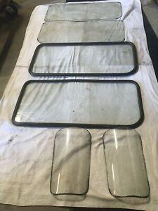 1967 Toyota Land Cruiser FJ40 Hard Top Glass- Original glass- 2 sets & Curved -