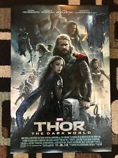 Thor The Dark World Original Movie Poster 27X40 Double Sided U.S. Final 2013