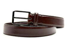 Zara Classic Mens Leather Belt Brown Size 34