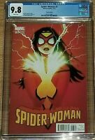 Spider Woman # 3 1:25 Forbes Variant CGC 9.8 NM/MT HTF WOW!!!