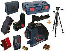 Bosch GLL 3-80 P 060106330A Laser croix 3 lignes BM1 LR2 + BT150 = DW085 DW088
