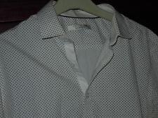 Chemise blanche à pois CELIO Club Taille M