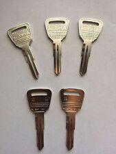 ESP Lock Product HD96 Acura X193 Uncut Key Blanks- 5 pack Metal Headed Key