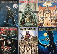 More details for iron maiden set of 6 postcards