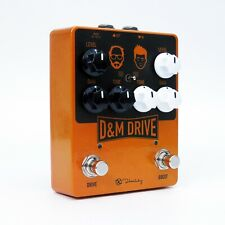 Keeley Electronics D&M Drive Boost Guitar Effect Effects Pedal NEW