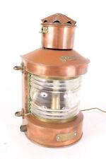 Fanal, ancienne lanterne de marine, de bateau TOPLICHT - Antique boat lamp