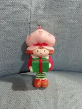 Vintage Christmas Natale ornament decorazioni pallina Strawberry Shortcake 1983