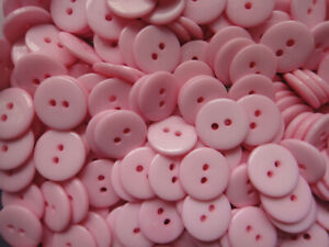 18mm 100pcs 2-Holes Round Resin Sewing Clothes Buttons Diy Toy Craft Scrapbook
