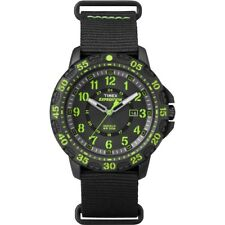 Timex Mens Expedition Gallatin Black Nylon Strap Watch TW4B05400  RRP £44.99