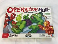 OPERATION HULK Silly Skill Game family kids tested WORKING Collectible AS IS