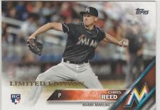 2016 Topps Limited Edition #631 Chris Reed Miami Marlins RC Rookie