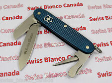 Swiss Bianco Victorinox Electrician Teal Blue Alox Swiss Army Knife