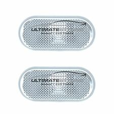 For Nissan Navara D40 2005-2008 Clear Side Indicator Repeaters Pair Left & Right