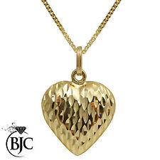 Yellow Gold Love & Hearts Fine Pendants