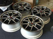 "Subaru Sti Oem Wheels rims Factory OEM 18"" 18x8.5 +55 5x114.3"