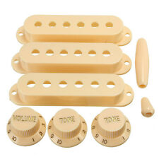 Guitar Pickup Covers Volume Tone Knobs Switch Tips For Fender Strat ST