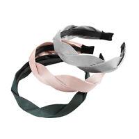 Fashion Women's Headband Fabric Hairband Twist Wide Hair Hoop Band Accessories