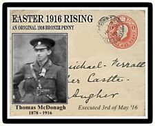 Ireland Easter 1916 Commemorative Card & Coin, Thomas MacDonagh