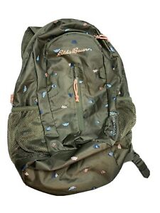 Eddie Bauer 20L Stowaway Ruck Pack Olive  New Without Tags